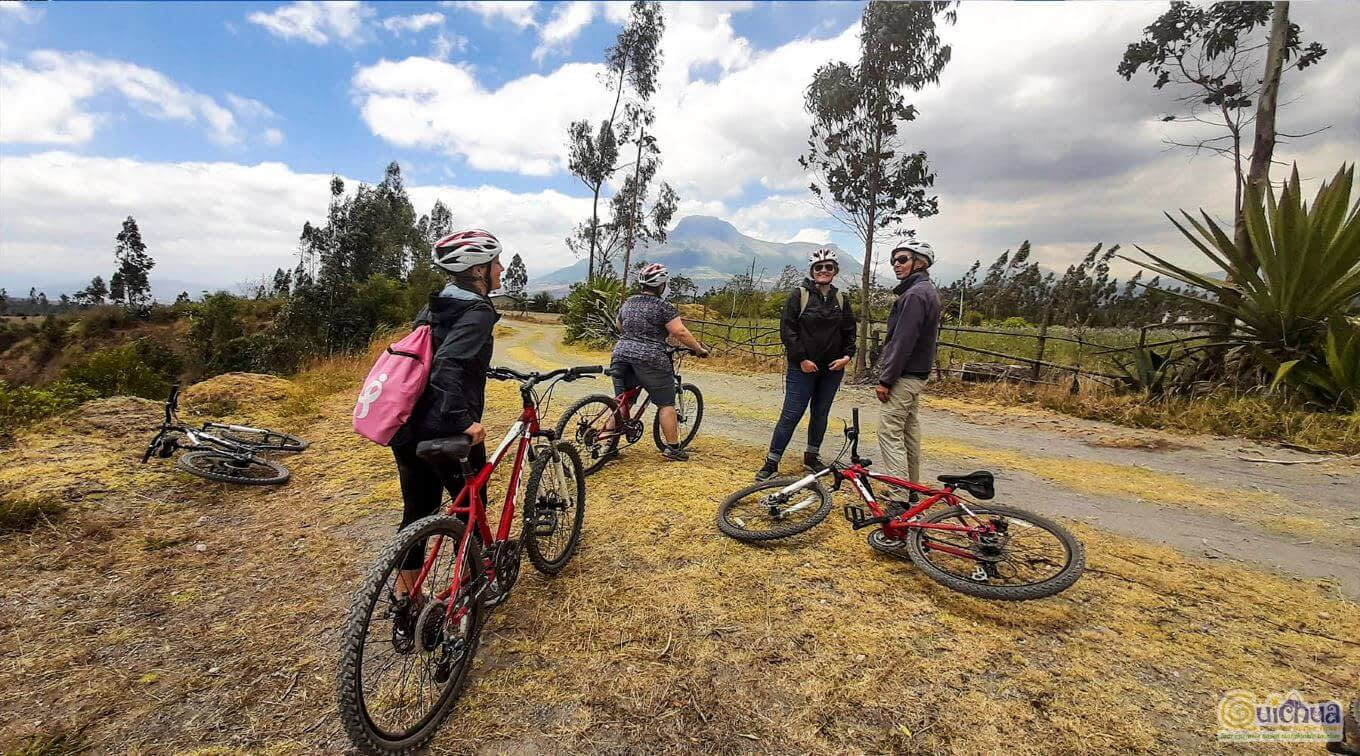 Explore Road Biking in Cotacachi and Cuicocha lake Ecuador