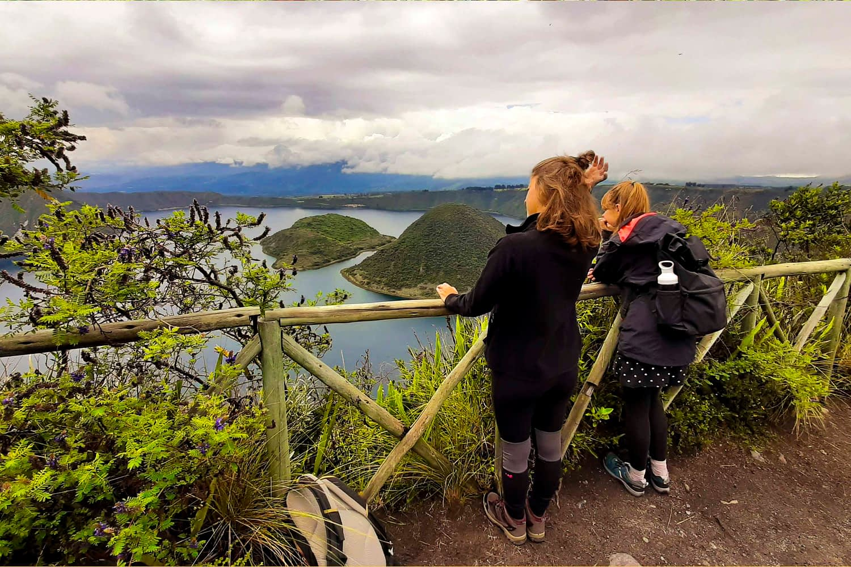 Communities trip and Cuicocha lake tour cuicocha lake