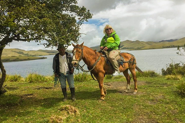 Piñan Trek and Horseback riding Ecuador 2 days
