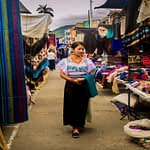 Visiting the Otavalo Market day tour Ecuador