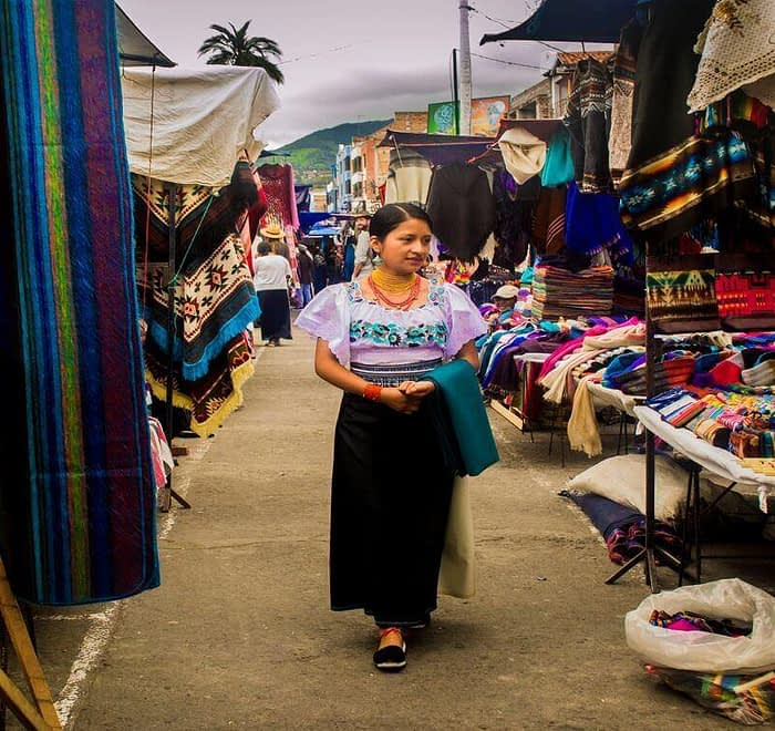 Visiting the Otavalo Market day tour Ecuador
