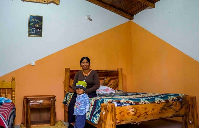 Local accommodation that promotes sustainable tourism